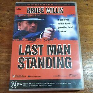 Last Man Standing DVD Bruce Willis R4 LIKE NEW FREE POST