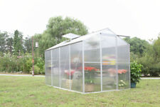 NEW SUNOR 1.9m * 2.5m ALUMINIUM POLYCARBONATE GARDEN GREENHOUSE