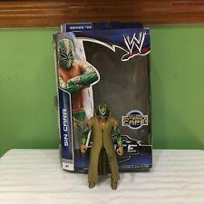 WWE SIN CARA Series 25 RARE ELITE MATTEL Wrestling Action Figure WITH ROBE CAPE