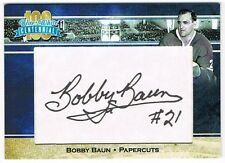 2017 President's Choice Blue and White Centennial series autograph Bobby Baun