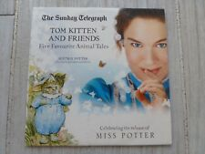 TOM KITTEN & FRIENDS 5 TALES READ BY PATRICIA ROUTLEDGE PROMO AUDIO BOOK CD