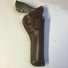 "Smith & Wesson  27, 29, 629 N Frame 61/2"" Barrel  Two Position Leather Holster"