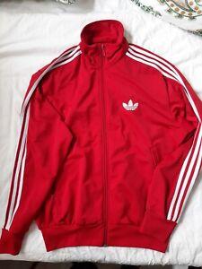 Adidas Firebird Jacke L Rot