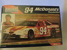 REVELL 94 BILL ELLIOTT McDONALDS 1996 THUNDERBIRD Model