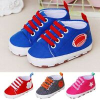 Newborn Toddler Baby Cartoon Girls Boys Crib Soft Prewalker Casual Flats Shoes
