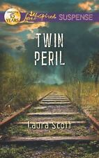 Love Inspired Suspense: Twin Peril by Laura Scott (2012, Paperback)