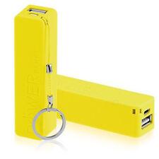 USB BATTERIA CARICA ESTERNA BANK POWER 2600MAh PER SMARTPHONE - nera o bianca ys