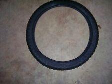 "Kenda  KNOBBY dirt old school BMX bicycle tires 20"" X 2.125"" (PAIR) BLACK 57-406"