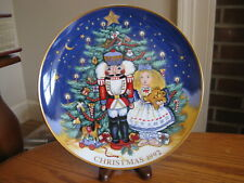 Fitz & Floyd Collector's Series Le Christmas Magic of the Nutcracker Plate 1992