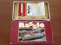 PARKER Brothers RAZZLE RETRO BOARD GAME COMPLETE