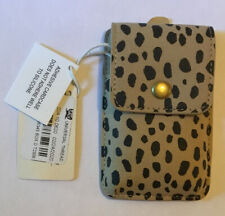 Adhesive Cell Phone Card Case Holder - Universal Thread - Leopard - New!