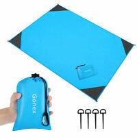 Extra Large 62'x43' Sand Proof Beach Blanket Outdoor Beach Towel Picnic Yoga Mat