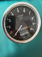 WASP london instruments trailing log water speed indicator nautical miles knots