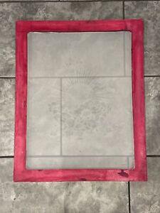 A2 Wooden Screen Printing Frame 43T