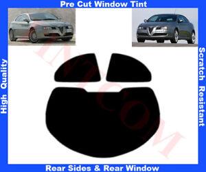 Alfa Romeo GT-Coupe 3D 04-11 Pre-Cut Window Tint 5%-50% Rear Window & Rear Sides