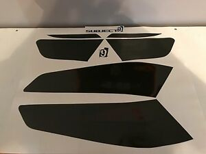 FITS 16-18 Kia Optima vinyl Taillight & Reflector covers tints smoked 6 pieces