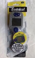 Stylus Digital Sudoku Mini Puzzle Ballpoint Pen Game Timer 2 Levels 10000 Puzzle