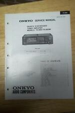 Onkyo Service Manual for the TX-860 TX-860M Tuner Amplifier Amp Receiver ~Repair