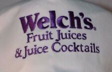 Welch's Fruit Juices & Cocktails Embroidered Strapback Hat Cap