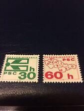 Czechoslovakia stamp NHM 1976 Coil Stamp - Postal Code Campaign