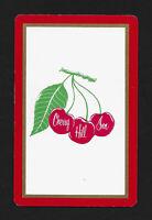 Cherry Hill Inn playing card single swap ace of diamonds - 1 card