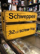 Schweppes Vintage Timber Crate 32floz