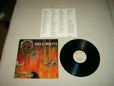 SLAYER --- very rare original 1985 HELL AWAITS LP!!!    thrash metal