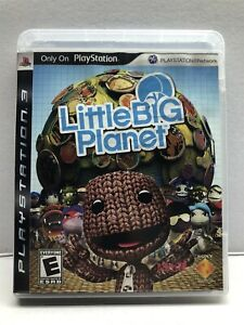 Little Big Planet - PlayStation 3, 2008 - Complete w/ Manual - Tested Working