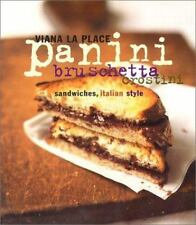 Panini Bruschetta Crostini Sandwiches Italian Hardback Cookbook Recipe Cooking