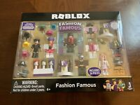 Roblox Celebrity Fashion Famous Playset Totoku Roblox Celebrity Fashion Famous Playset Ebay