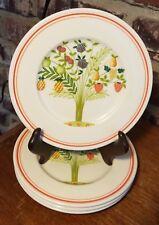"""Villeroy & Boch BON APPETIT Bread plate set(s) of 4, 6 1/4"""", Porcelain Excellent"""