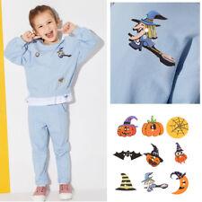 50pcs Halloween Wood Sewing Decor Buttons Scrapbooking Embellishment Use Craft