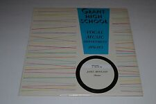 Grant High School~Vocal Music Department 1970-1971~Janet Howland~FAST SHIPPING
