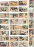 29 TRANSPORT SCENES TRADE TOBACCO CARDS. POSS CHINESE Card size 59x33mm