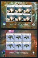 SoD BIOT 2009 Space Exploration set in sheetlets of 6 MNH SG 408/12  Cat £75