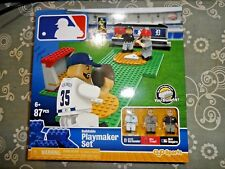 MLB Buildable Playmaker Set Lego 87 PCS TIGERS Verlander & ANGELS Trout by OYO