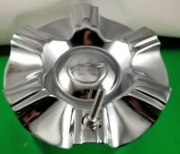 ZINIK CENTER CAP # Z-07 52951775F-1 CHROME WHEELS CENTER CAP 1