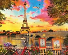 Springbok Paris Sunset 1000 Piece Jigsaw Puzzle