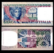 ITALY 50,000 50000 LIRE 1977/1980 P 107 AU-UNC