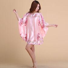 NEW Sexy Womens Silk Satin Pajamas Sleepwear&Robes Nightdress Nightgown P060