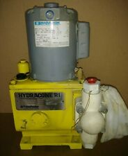Pulsafeeder Hydracone R1 Metering Pump W MOTOR 50:1 12.5GPM 160 PSI NEW !!