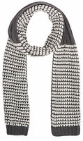 Winter Crochet Chunky Knit Chevron Infinity Circle Scarf for Women and Men