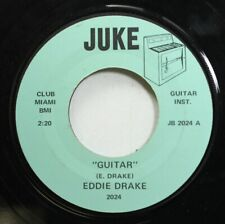 Jazz 45 Eddie Drake - Guitar / Steel Guitar Rag On Juke
