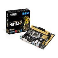 ASUS H81M-P-SI MOTHERBOARD DDR3(2xUSB3.0)(2xUSB2.0)(1xVGA)(1xDVI)WITH I/O SHEILD