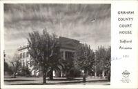Safford AZ Graham County Court House Real Photo Postcard
