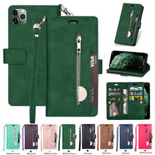 F iPhone 12 11 Xs Max 8 7 6 Plus Flip Leather Phone Case Cover Card Wallet Stand