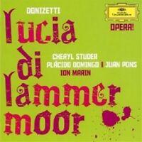 STUDER/DOMINGO/MARIN/LSO/+ - LUCIA DI LAMMERMOOR (GA) 2 CD 29 TRACKS OPERA NEU