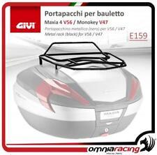 "GIVI Portapacchi Metallico Nero per Bauletto ""Maxia4 V56"" e ""Monokey V47"""