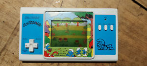 """Lcd game Orlitronic """" Schtroumpfs """" game watch -modele rare"""