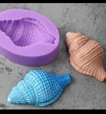 New Beach Shell Sea DIY Silicone Mold Fondant Cake Chocolate Polymer Clay Mould